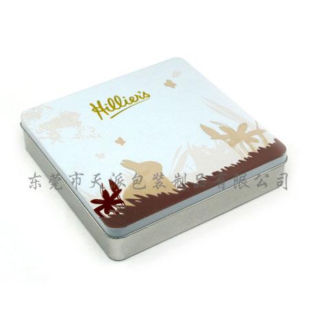 红糖姜茶激凸铁盒|速溶姜茶方形铁盒子加工厂