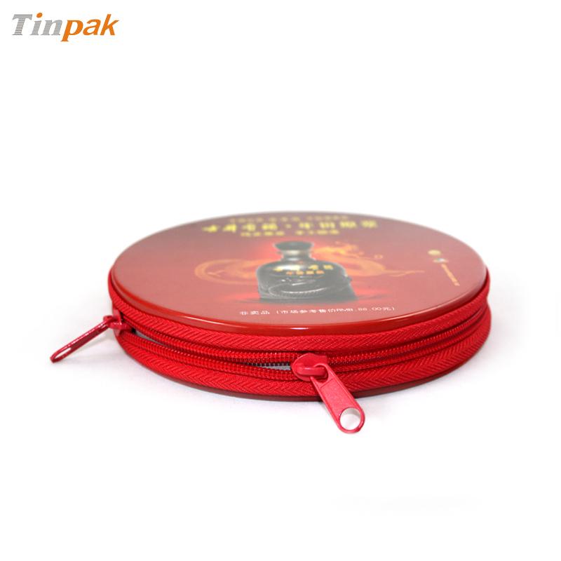 圆形cd铁盒|金属cd包装盒