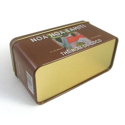 按用途分类 茶叶铁罐 乌龙茶铁盒 广东厂家定做长方形乌龙茶茶叶铁罐图片