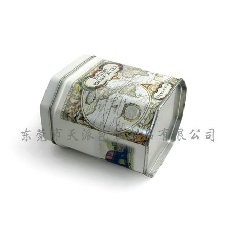 铁质柠檬果茶包装盒