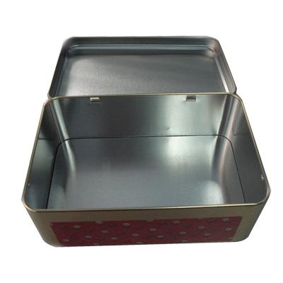 按用途分类 茶叶铁罐 定制深圳翻盖式玫瑰花茶铁盒|高档长方形玫瑰图片