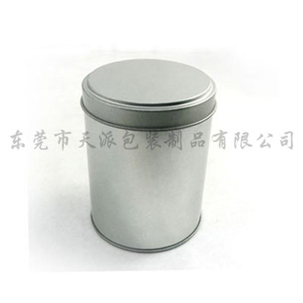 枸杞茶圆形铁罐|养生枸杞茶银光铁罐厂家