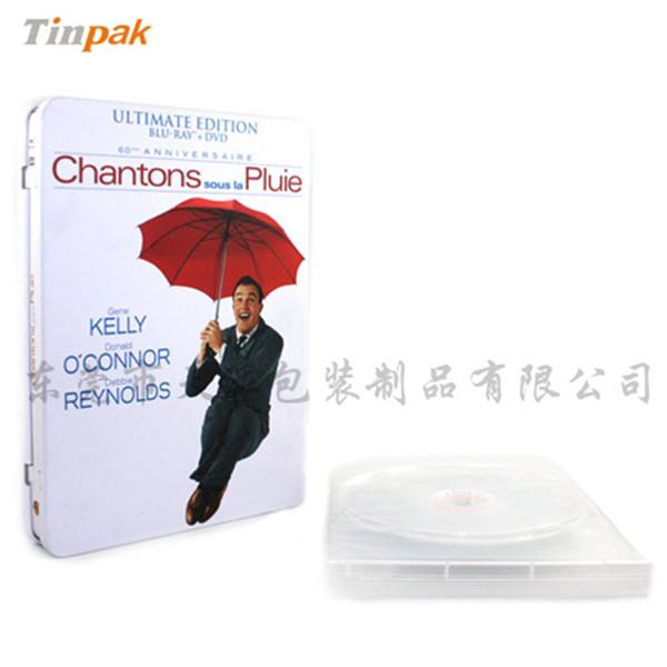 纯音乐DVD铁盒 碟片包装铁盒定制商