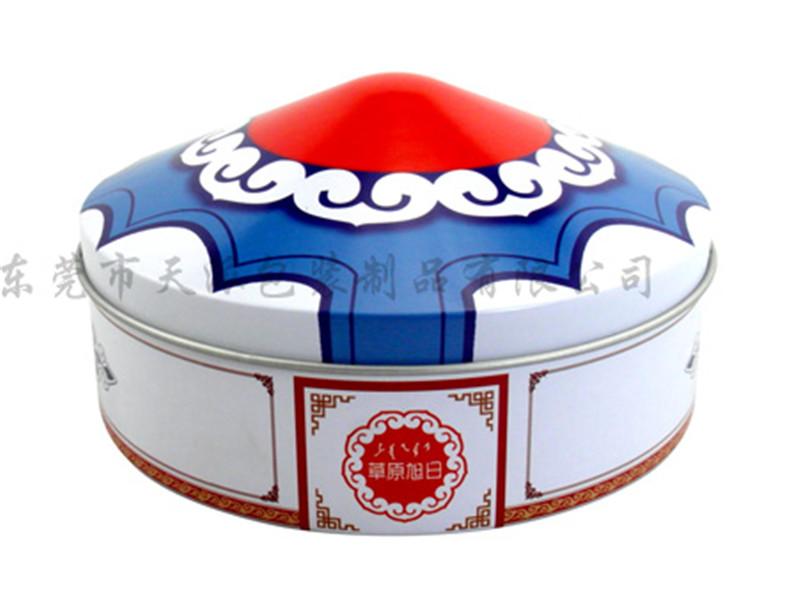 白兰花茶包装铁盒 创意白兰 花茶铁盒工厂