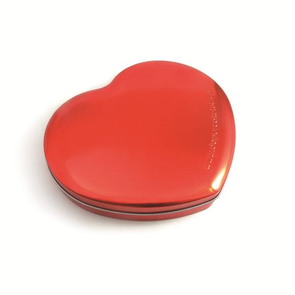 减肥茶包装铁盒|健康减肥茶心形铁盒