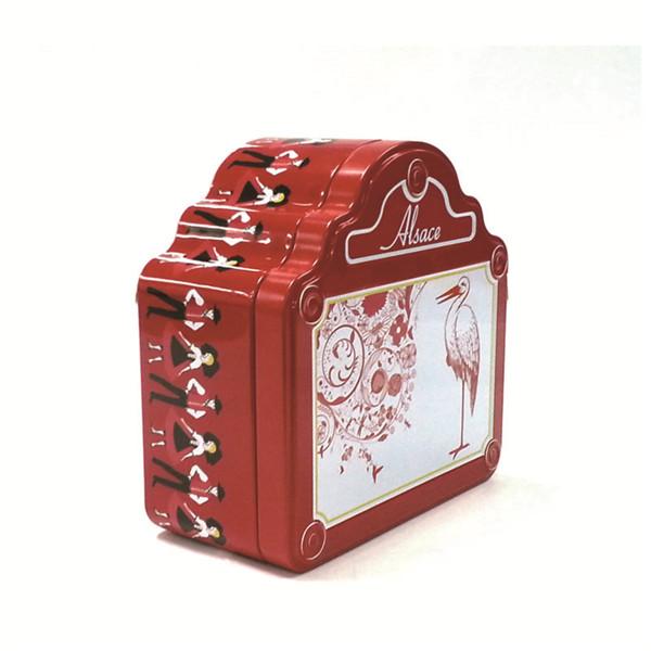 创意金针贡饼礼铁盒|迷你金针贡饼马口铁盒供应商
