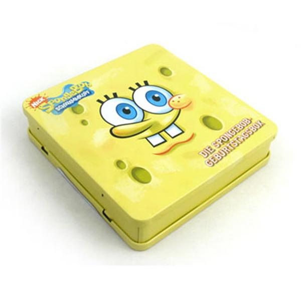 海绵宝宝DVD铁盒