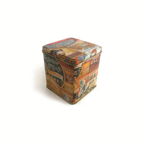玫瑰花茶包装铁盒|正方形玫瑰花茶铁盒供应商
