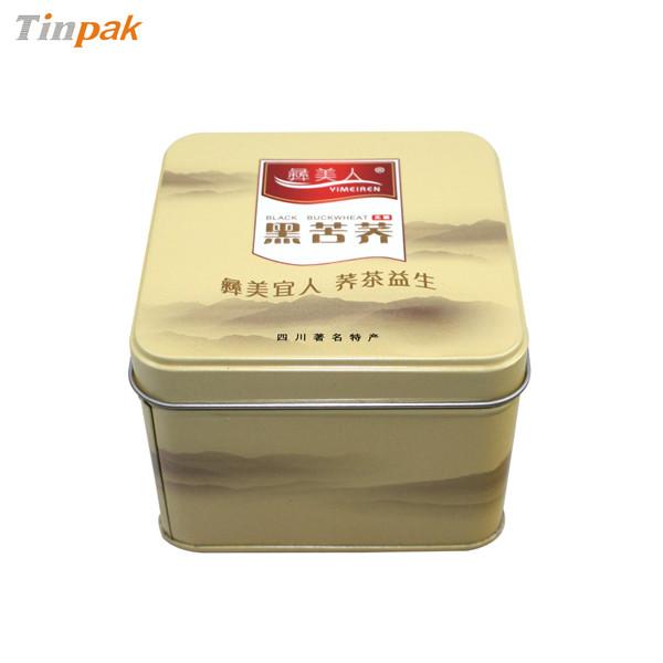 蒙顶黄芽茶叶铁盒
