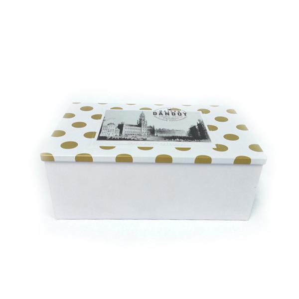 养颜美容茶高档铁礼盒|天地盖养颜茶包装铁盒