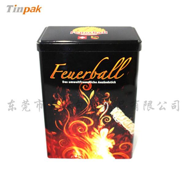 炒麦芽保健茶铁盒|方形麦芽茶马口铁盒