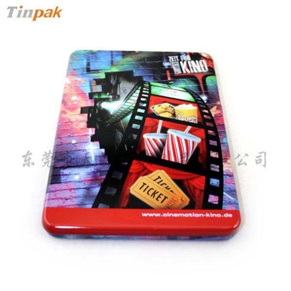 3D电影DVD铁盒