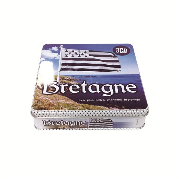法国布列塔尼文化记录DVD铁盒