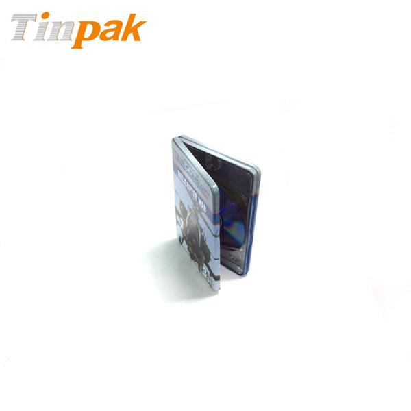 两片拉伸DVD铁盒|东莞铁线铰DVD铁盒供应商