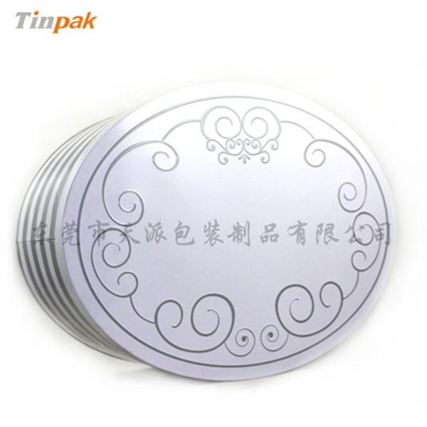 大号扁形白茶茶叶铁盒定制厂家