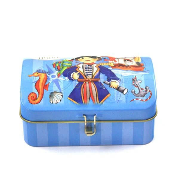 流行元素礼品铁盒