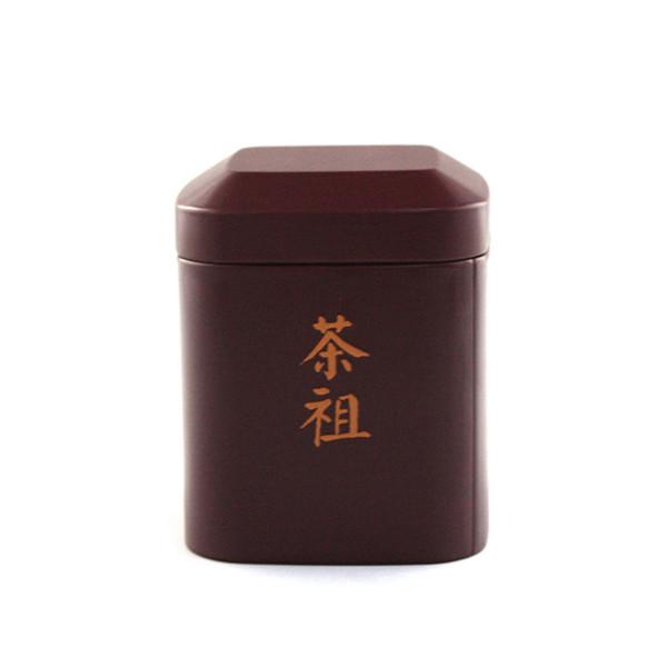 高档铁质白牡丹茶包装盒工厂