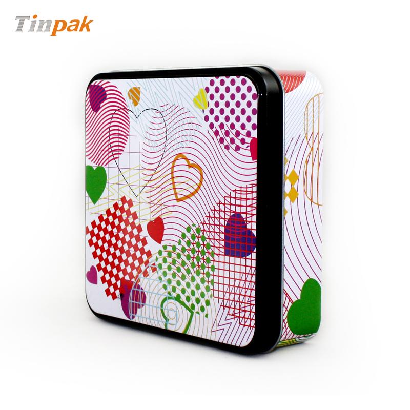 厂商生产定制方形阿胶马口铁包装盒