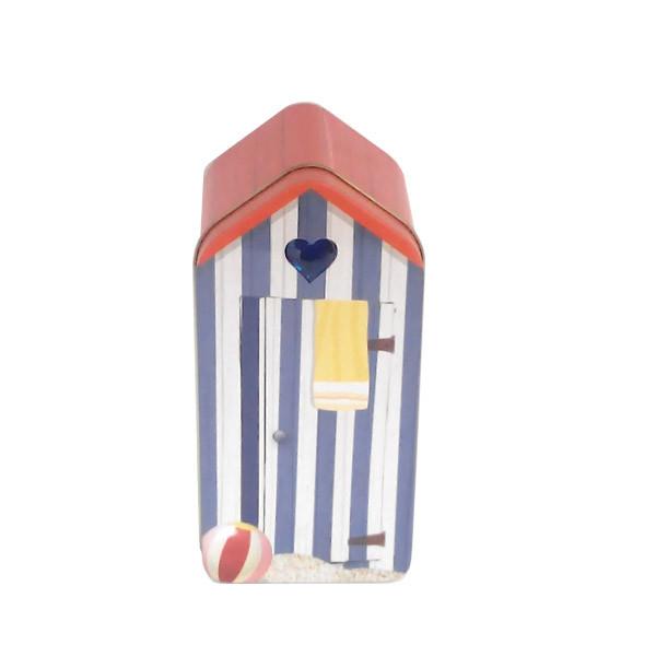 定做屋子形状安全套铁盒厂家|创意安全套铁盒厂家