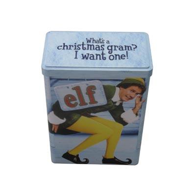 立体方形减肥胶囊铁盒定制批发|创意定制减肥胶囊铁盒厂家
