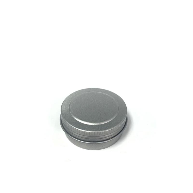 上海圆形唇膏铁盒定制|圆形螺纹盖唇膏铁盒供应商