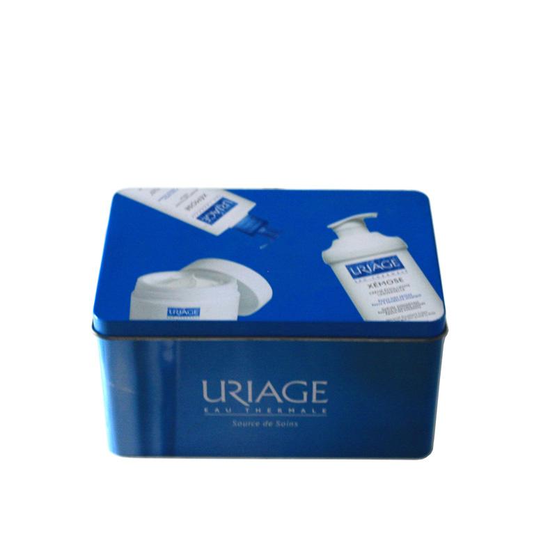 依泉方形洗护系列铁盒厂家|定制护肤品铁盒厂家
