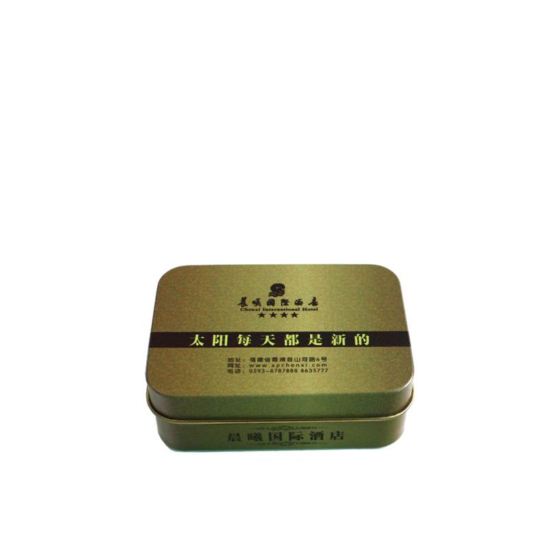 小长方形安全套铁盒定制|安全套铁盒生产厂家