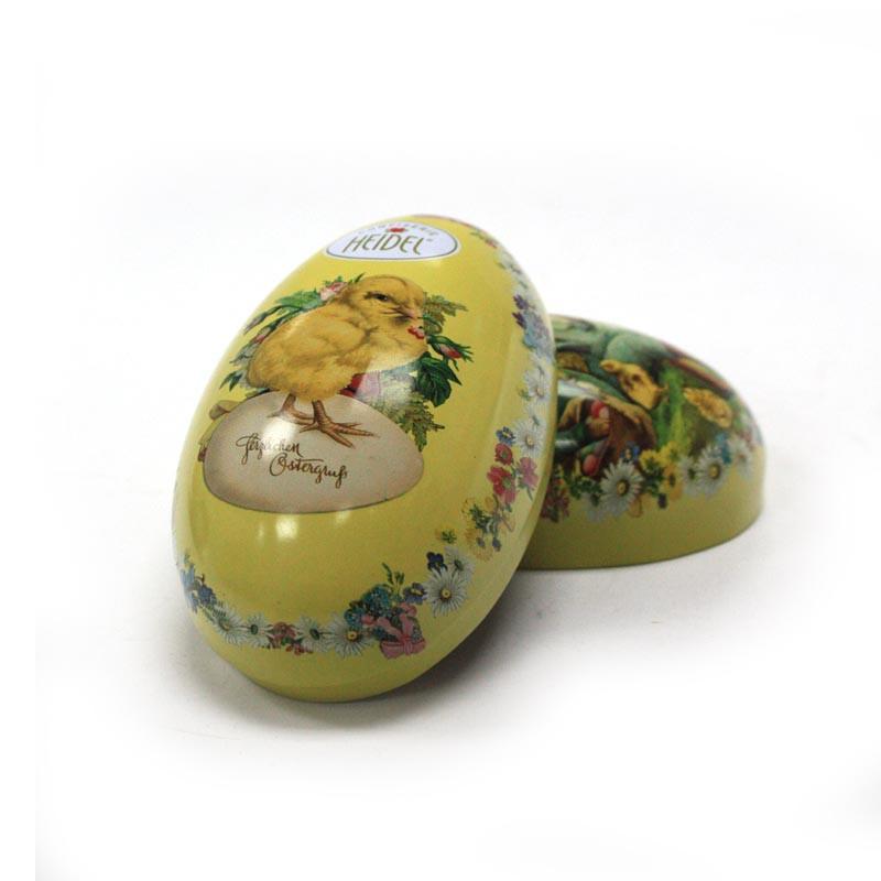 鸡蛋造型糖果铁盒|糖果铁盒定制厂家
