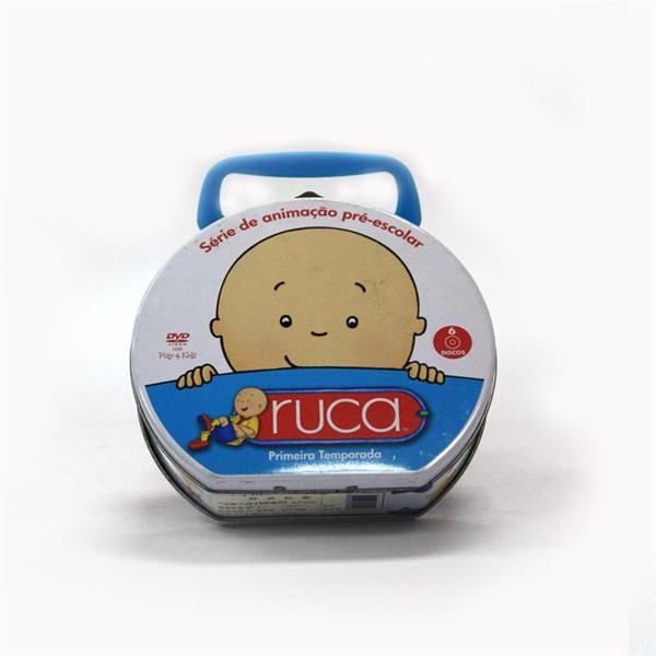 该款   半圆形手挽糖果铁皮罐   ,盖子上的手提可根据客户