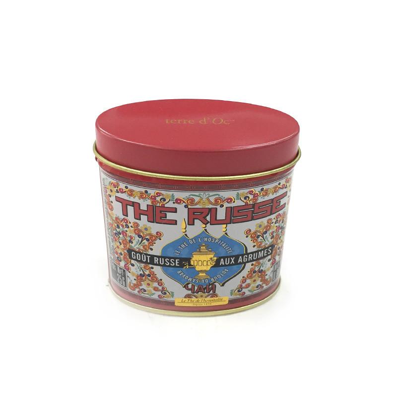 小号花茶茶叶铁皮包装罐子制罐厂家