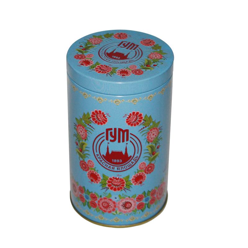圆筒马口铁保健茶茶叶包装罐制罐工厂