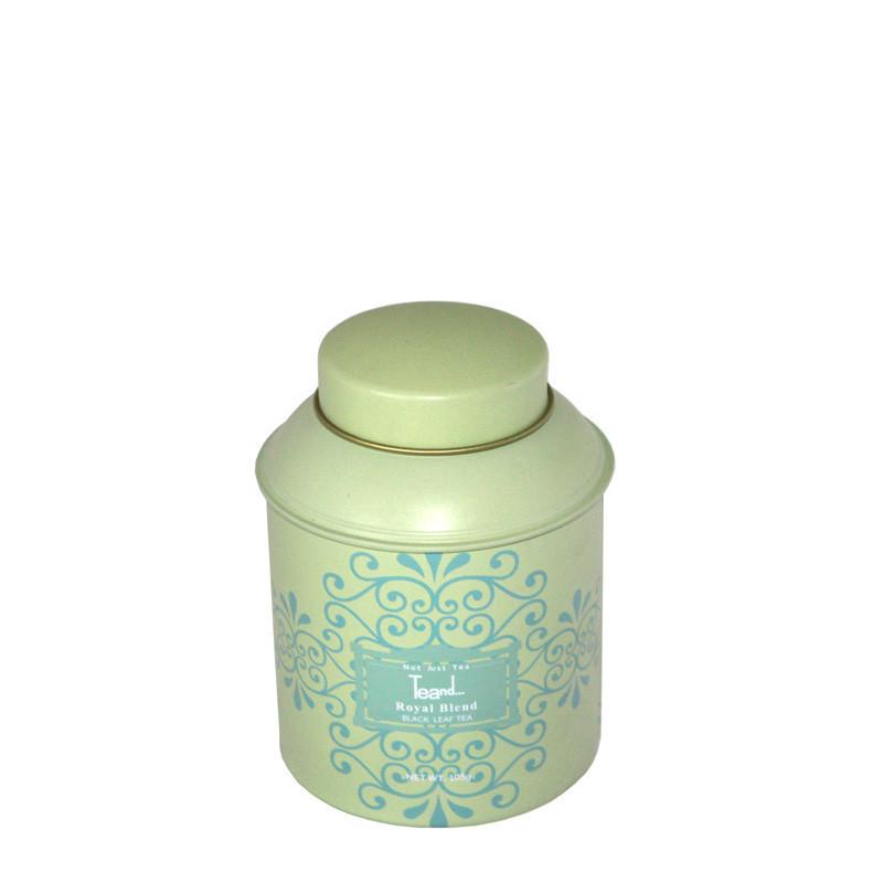 东莞圆形花茶茶叶包装铁罐制罐厂