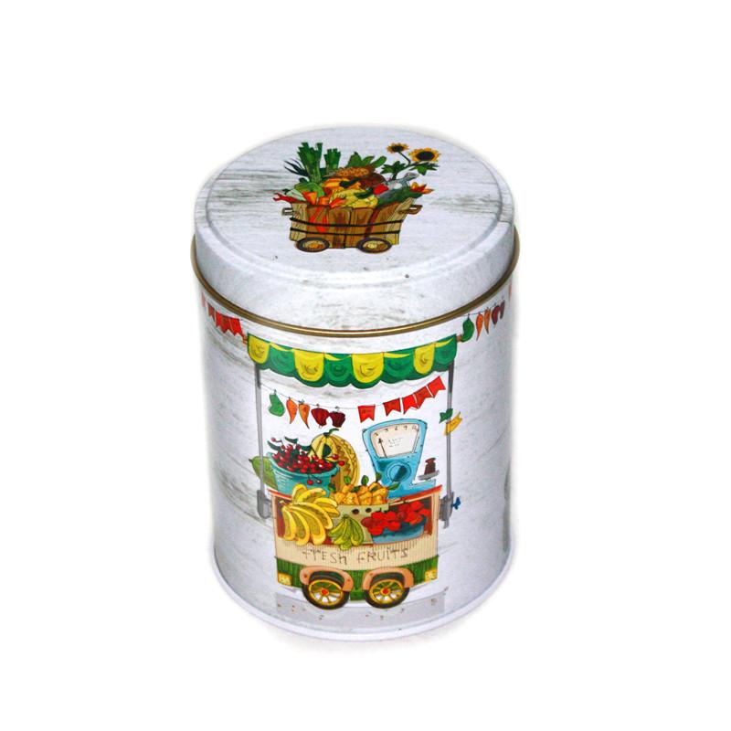 广东圆筒果茶茶叶金属铁罐制罐厂家