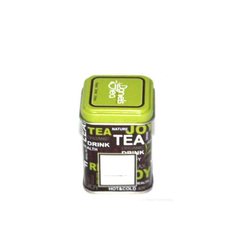 迷你方形白茶茶叶马口铁罐制罐厂