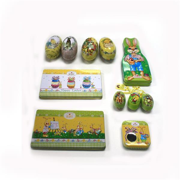 上海复活节巧克力糖果包装铁盒生产厂家