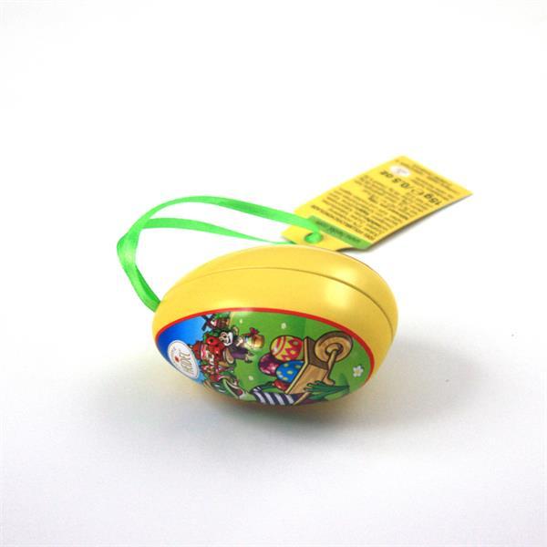 厂家定制马口铁复活节迷你糖果小鸡蛋罐