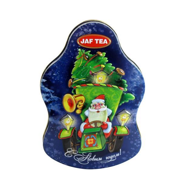 圣诞节主题礼品包装铁盒 圣诞礼品包装盒礼盒定制生产