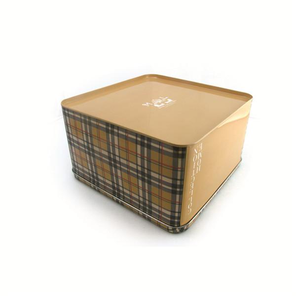 大号正方形内衣收纳铁盒子定制
