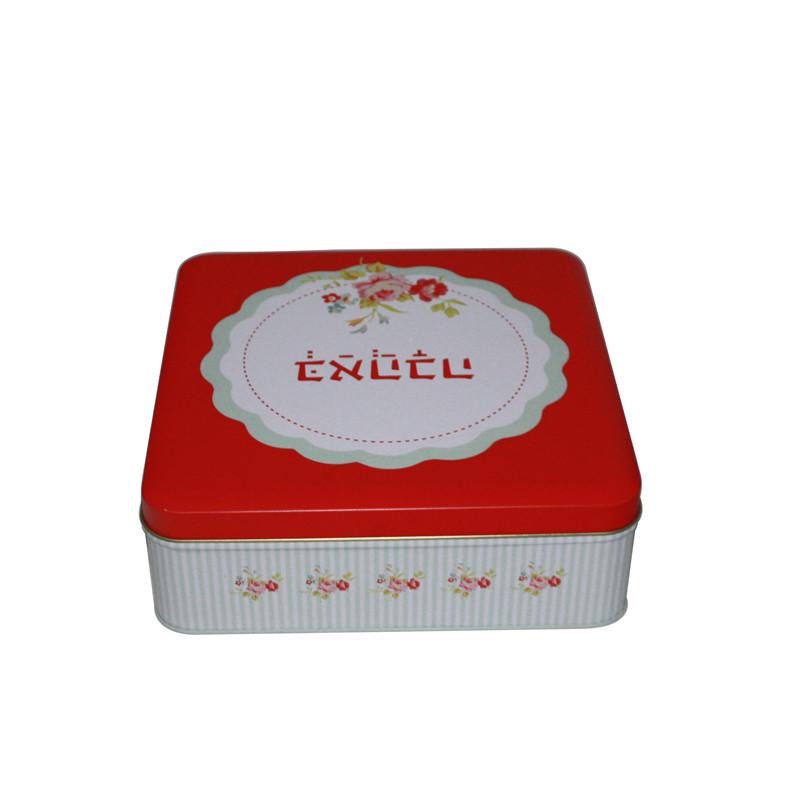 正方形马口铁腰果包装盒生产厂家
