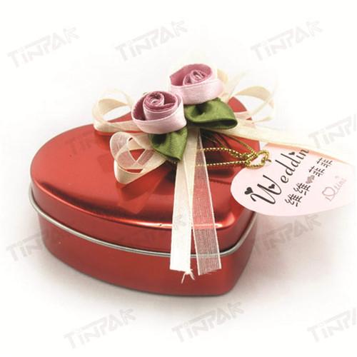 心形手工巧克力铁盒生产厂