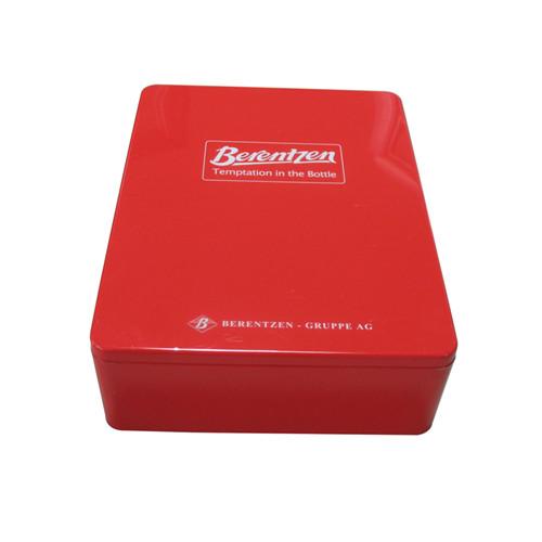 桂发祥十八街麻花包装铁盒 天津土特产麻花铁盒子