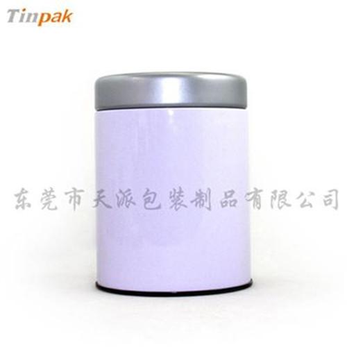 创意圆形白茶茶叶马口铁罐印铁制罐工厂