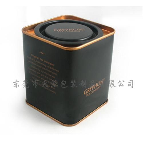东湖银毫马口铁盒|东莞银毫茶叶铁盒厂家|银毫绿茶铁盒