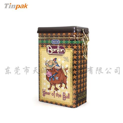 恩施玉露包装铁盒|湖北绿茶铁盒子生产厂