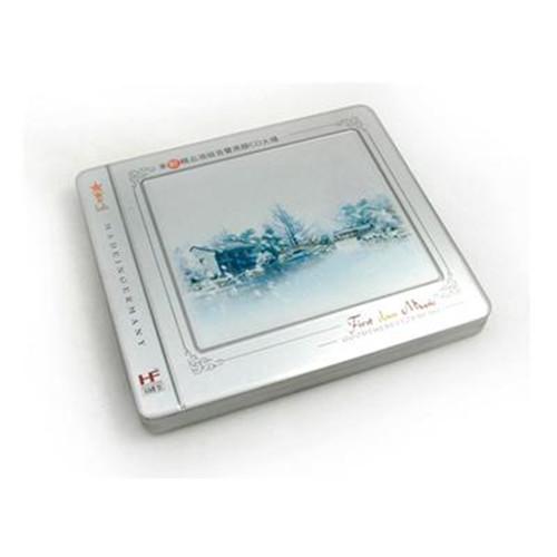 高档光盘包装盒 学习软件CD铁盒