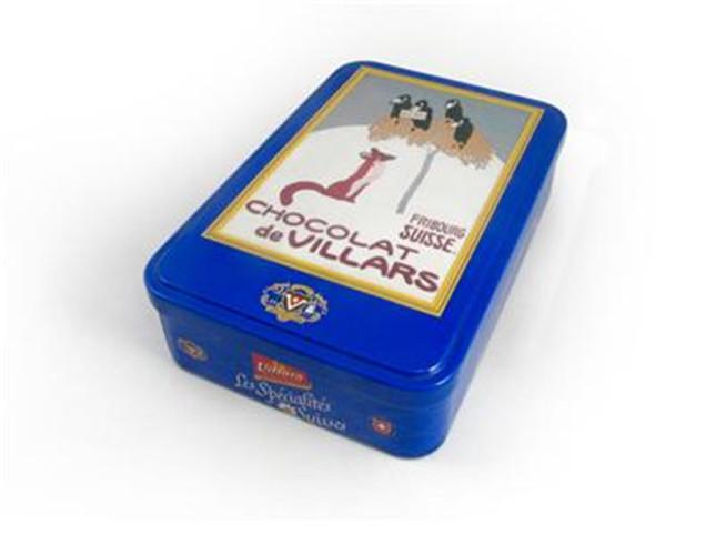 罗汉果茶铁包装盒