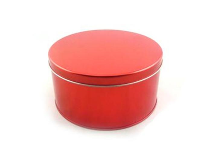 高档圆形白茶茶叶铁盒定做