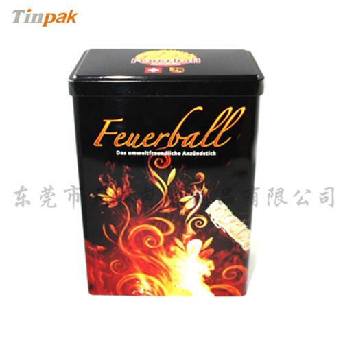 牛蒡茶叶罐|黄金特级牛蒡茶铁罐制造商