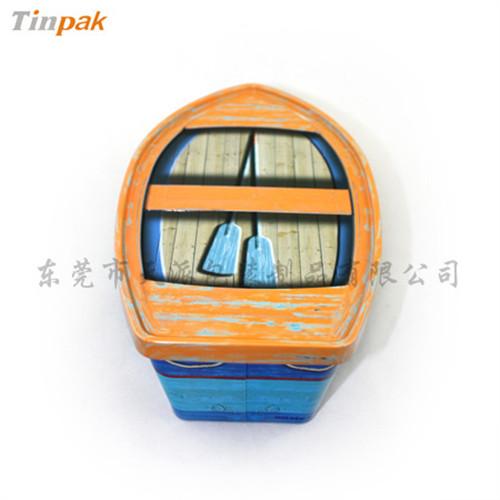 广东腰果铁盒厂家 异形腰果包装铁盒