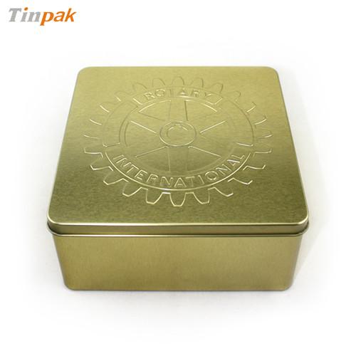 高档榛子铁盒厂 金属榛子包装铁盒